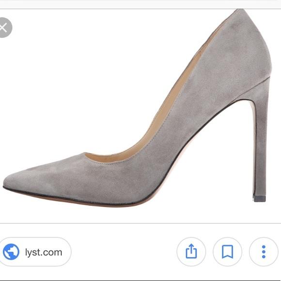 e5e46b9e9a6a Nine West Tatiana gray suede heels. M 5af822b784b5ce78da94b7d7